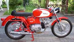 Photo of a 1969 Aermacchi 250 Ala Verde serie 2