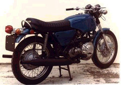 Photo of a 1971 BSA Prototype