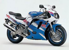 Photo of a 1995 Suzuki GSX-R 750