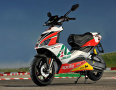 Photo of a 2010 Aprilia SR 50 R Factory SBK Replica