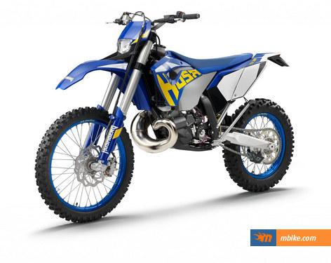 These are the first two-stroke models in Husaberg's history