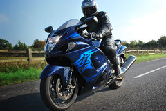 Photo of a 2011 Suzuki GSX 1340 R