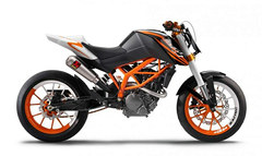 Photo of a 2009 KTM 125 Race Concept