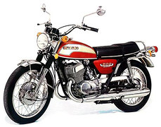 Photo of a 1974 Suzuki T 500