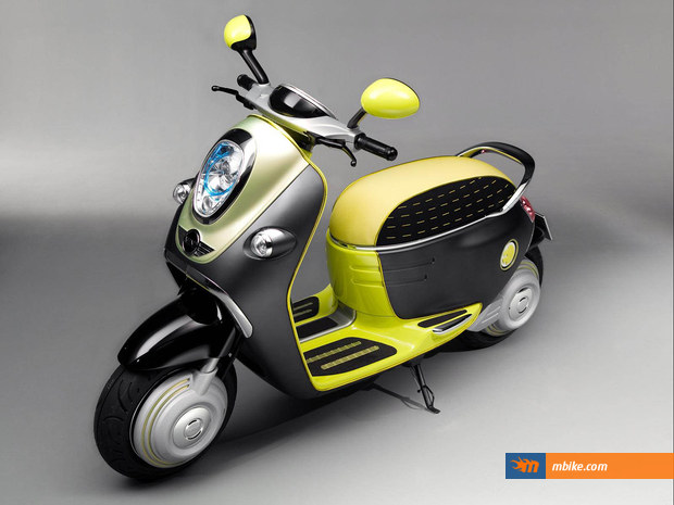 MINI will bring three retro-inspired scooter concepts to Paris