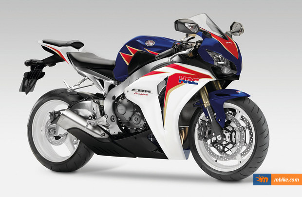 The big Fireblade got new livery
