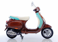 Photo of a 2010 Vespa Tribute Digital Veneer's Limited Edition