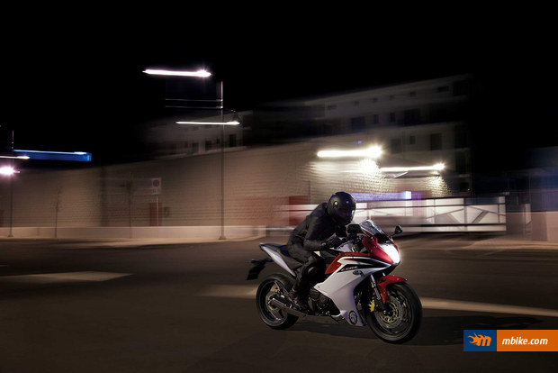The CBR 600 F is back!