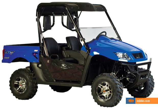 Kymco introduced a limited edition ATV