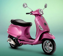 Photo of a 2011 Vespa LX Rosa Chic 50 4T