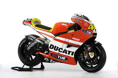 Photo of a 2011 Ducati Desmosedici GP11