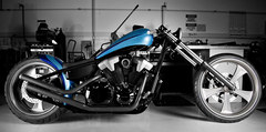 2010 Honda Fury Furious Hardtail Chopper Concept (VT 1300 CX)