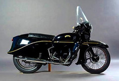 Photo of a 1955 Vincent Black Prince