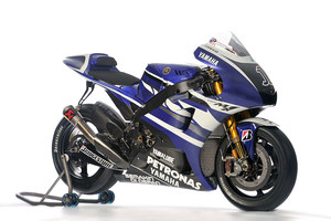 The 2011 Yamaha Factory Racing YZF-M1