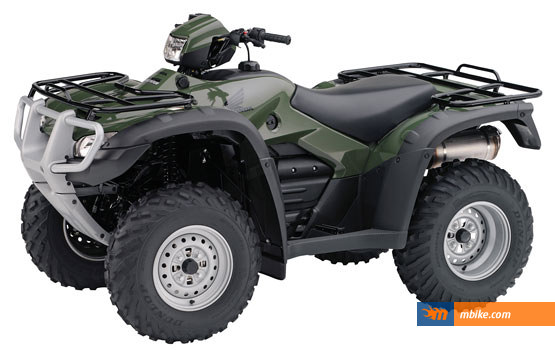 The 2012 FourTrax Foreman ATV