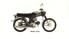 Photo of a 1966 Honda S-90