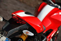 Photo of a 2012 Ducati Monster 1100 EVO