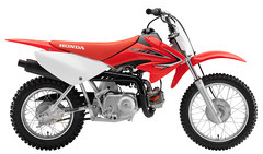 Photo of a 2015 Honda CRF 70 F