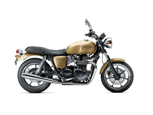 2012 Triumph Bonneville 900 in gold