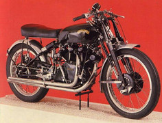 Photo of a 1952 Vincent Black Shadow