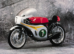Photo of a 1966 Honda RC166 250