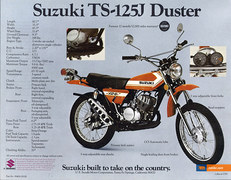 Photo of a 1972 Suzuki TS 125