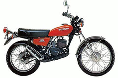 Photo of a 1976 Suzuki TS 125