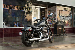 Photo of a 2012 Harley-Davidson XL1200N Sportster Nightster