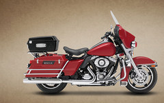 Photo of a 2013 Harley-Davidson FLHP Road King Fire/Rescue