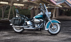 Photo of a 2013 Harley-Davidson FLSTC Heritage Softail Classic