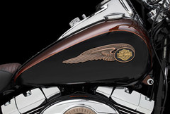 Photo of a 2013 Harley-Davidson FLSTC Heritage Softail Classic 110th Anniversary