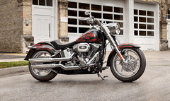 Photo of a 2013 Harley-Davidson FLSTF Fat Boy