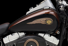 Photo of a 2013 Harley-Davidson FLSTFB Softail Fat Boy Lo 110th Anniversary