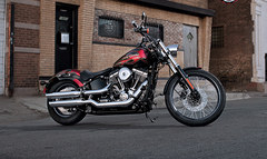 Photo of a 2013 Harley-Davidson FXS Blackline
