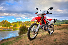 Photo of a 2013 Honda CRF 250 L