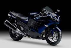 Photo of a 2013 Kawasaki ZZR 1400