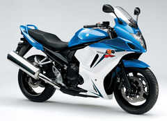 Photo of a 2013 Suzuki GSX 650 F